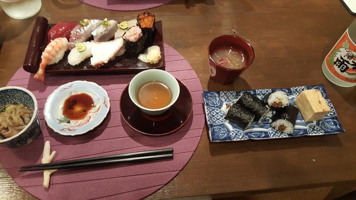 ハモンセラーノとローストビーフの握り寿司_a0223786_16464755.jpg