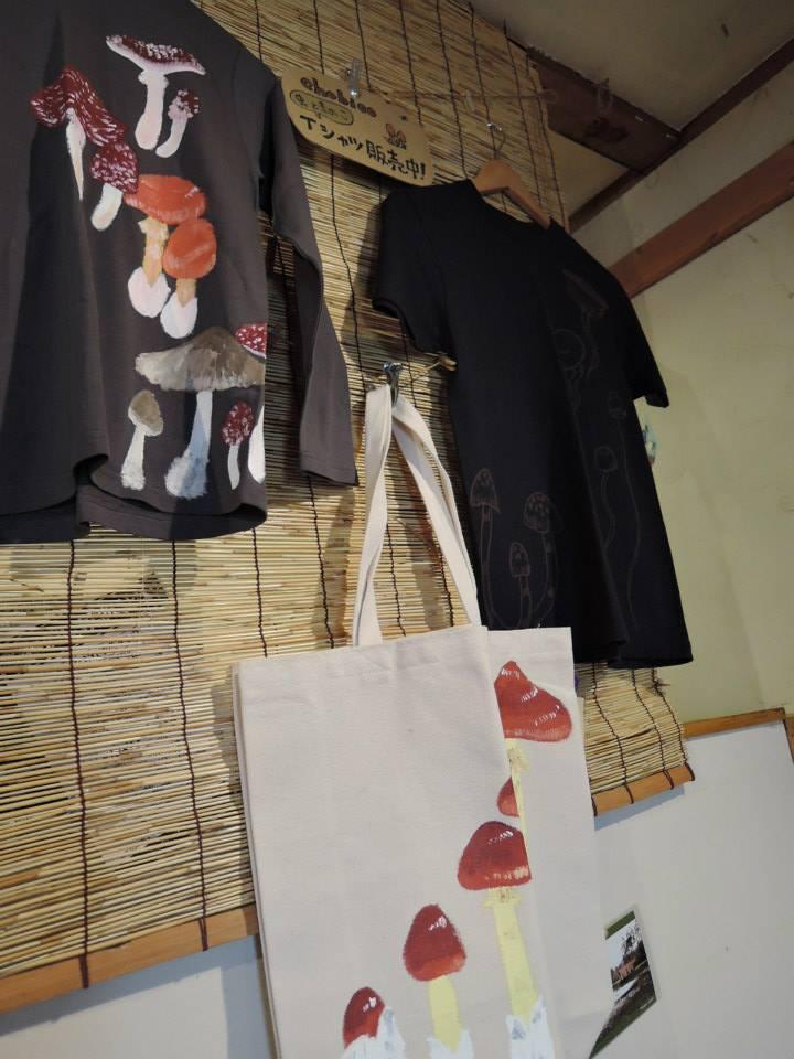 chobico 虫ときのこTシャツ並びました! _d0154687_18162787.jpg