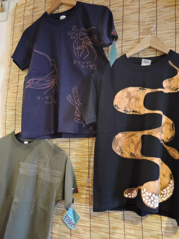 chobico 虫ときのこTシャツ並びました! _d0154687_18251048.jpg