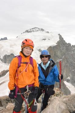 """2015年7月 『憧れのモンブランへ』 July, 2015 \""""To Mont Blanc, My Dream\""""_c0219616_17194678.jpg"""
