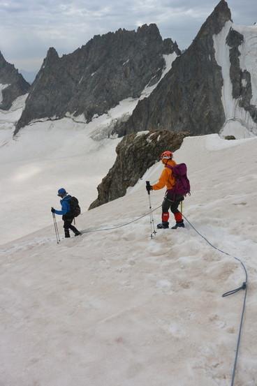 """2015年7月 『憧れのモンブランへ』 July, 2015 \""""To Mont Blanc, My Dream\""""_c0219616_17222789.jpg"""