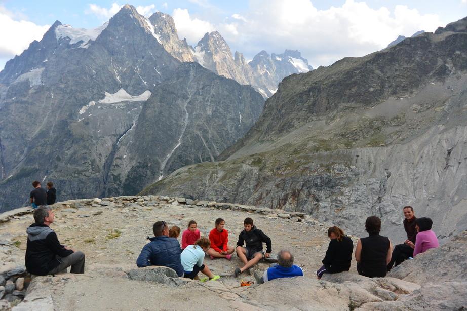 """2015年7月 『憧れのモンブランへ』 July, 2015 \""""To Mont Blanc, My Dream\""""_c0219616_1791375.jpg"""