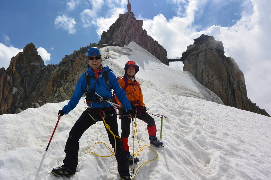 "2015年7月 『モンブランの頂き』 July 2015 ""The Summit of Mont Blanc\""_c0219616_1932594.jpg"