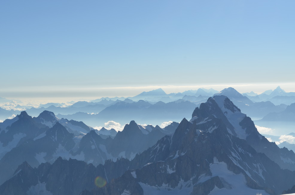 "2015年7月 『モンブランの頂き』 July 2015 ""The Summit of Mont Blanc\""_c0219616_21152713.jpg"