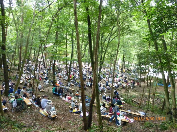 天候に恵まれ里山の森で開催に、感謝♪♪♪_a0142828_23581083.jpg