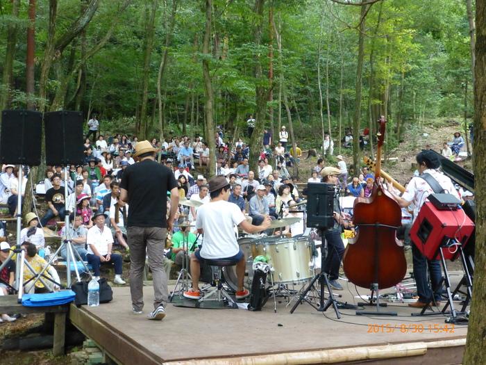 天候に恵まれ里山の森で開催に、感謝♪♪♪_a0142828_23595619.jpg