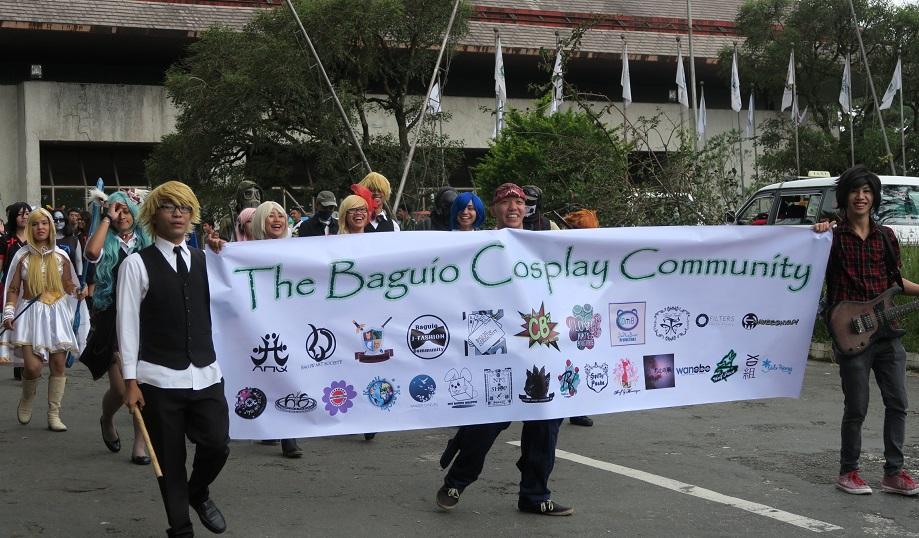 BAGUIO DAY PARADE 2015 バギオ市制106周年記念パレードに伊達政宗と七夕飾りが参加_a0109542_1722935.jpg