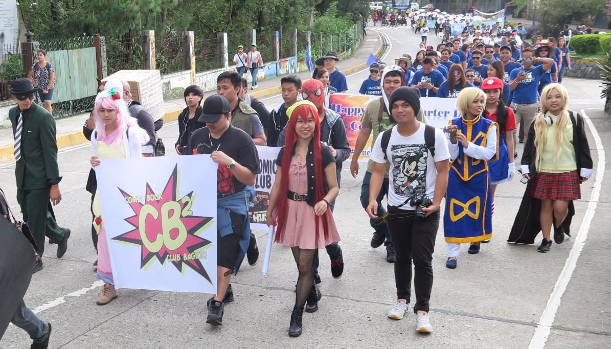 BAGUIO DAY PARADE 2015 バギオ市制106周年記念パレードに伊達政宗と七夕飾りが参加_a0109542_17363713.jpg