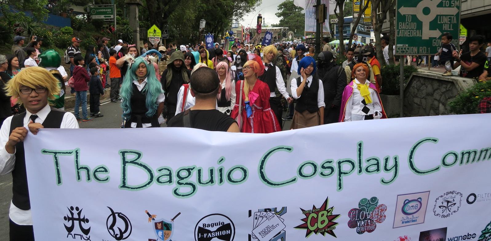 BAGUIO DAY PARADE 2015 バギオ市制106周年記念パレードに伊達政宗と七夕飾りが参加_a0109542_17482194.jpg