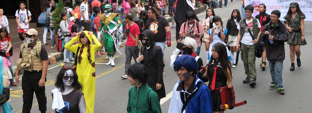 BAGUIO DAY PARADE 2015 バギオ市制106周年記念パレードに伊達政宗と七夕飾りが参加_a0109542_17494993.jpg