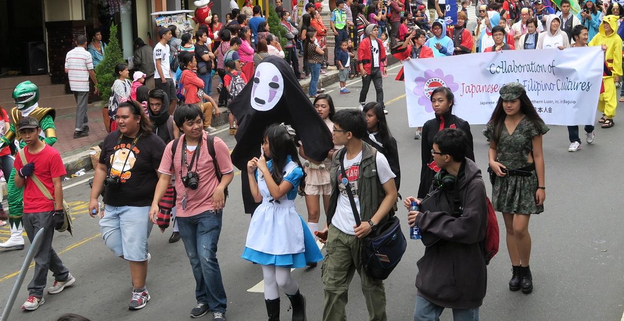 BAGUIO DAY PARADE 2015 バギオ市制106周年記念パレードに伊達政宗と七夕飾りが参加_a0109542_17502564.jpg