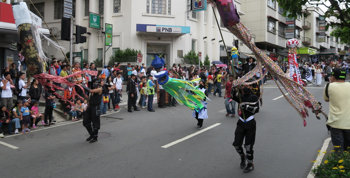BAGUIO DAY PARADE 2015 バギオ市制106周年記念パレードに伊達政宗と七夕飾りが参加_a0109542_17585225.jpg