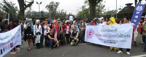 BAGUIO DAY PARADE 2015 バギオ市制106周年記念パレードに伊達政宗と七夕飾りが参加_a0109542_18113570.jpg