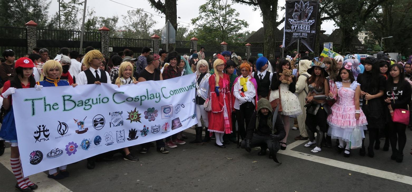BAGUIO DAY PARADE 2015 バギオ市制106周年記念パレードに伊達政宗と七夕飾りが参加_a0109542_18135652.jpg