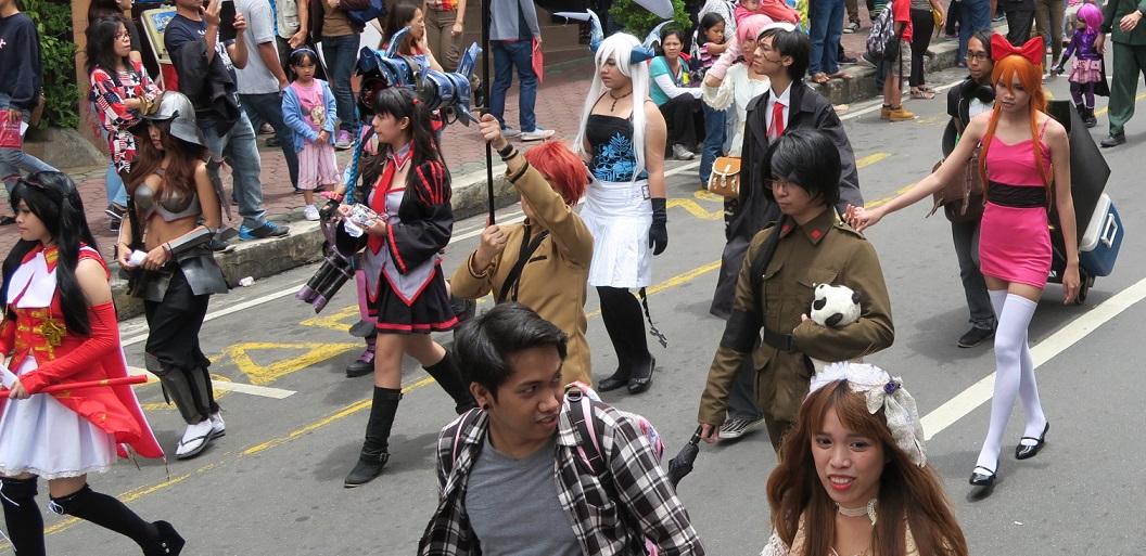 BAGUIO DAY PARADE 2015 バギオ市制106周年記念パレードに伊達政宗と七夕飾りが参加_a0109542_18233480.jpg