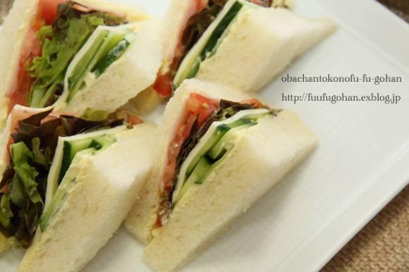 野菜サンドとあったか~いスープ_c0326245_11194518.jpg