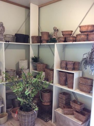 東南アジアの植木鉢の工場見たいですが、ここは、アナーセン_b0137969_11340055.jpg