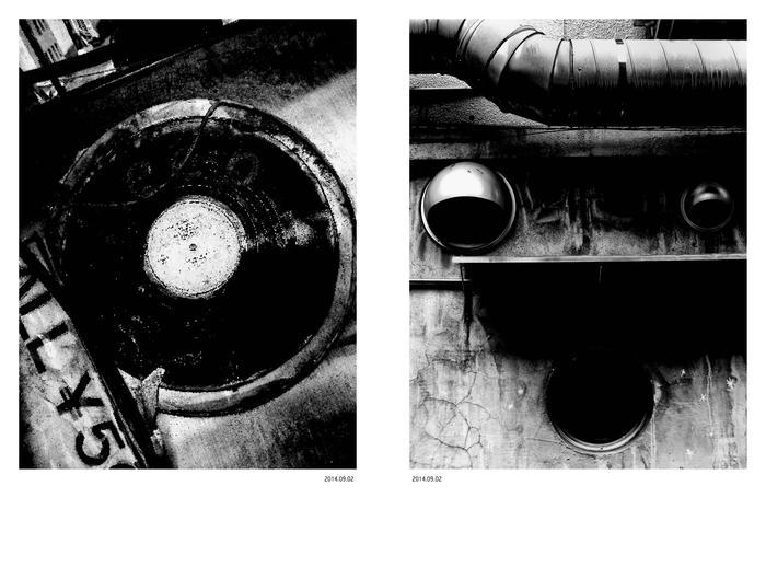 10月新刊の御案内:森山大道写真集『犬と網タイツ』_a0018105_199235.jpg