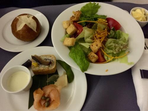 15年夏休みハワイ  1★今回もUAの機内食は…_d0285416_19564598.jpg