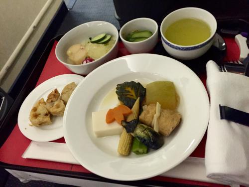 15年夏休みハワイ  1★今回もUAの機内食は…_d0285416_19564698.jpg