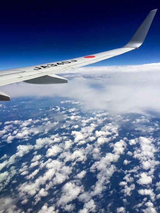 JAL309 座席35K / iPhone 6_c0334533_00551717.jpg