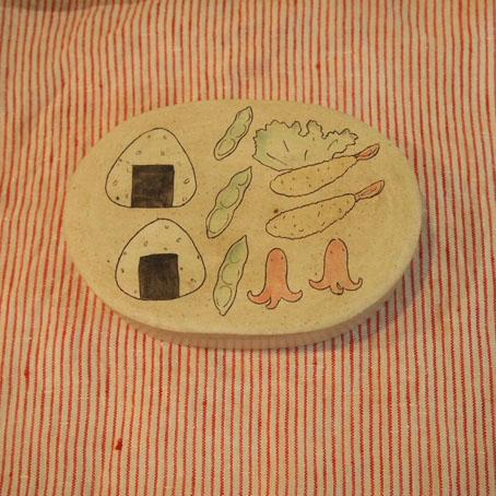 大野素子さんのお弁陶箱、たこさんウインナー_b0322280_18283760.jpg
