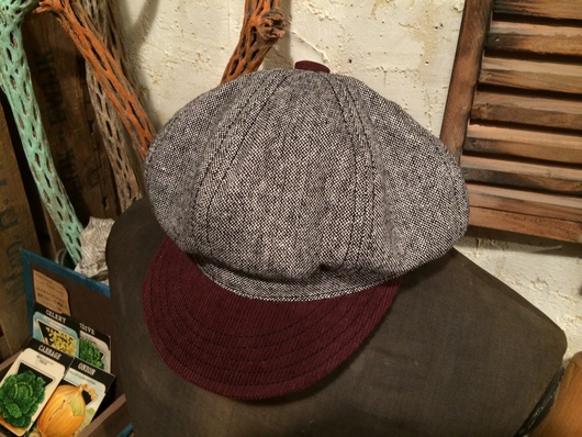 ◆ ORDER MADE NEWSBOY CAP ◆_c0078202_7492233.jpg