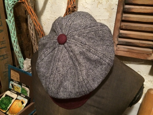 ◆ ORDER MADE NEWSBOY CAP ◆_c0078202_74979.jpg