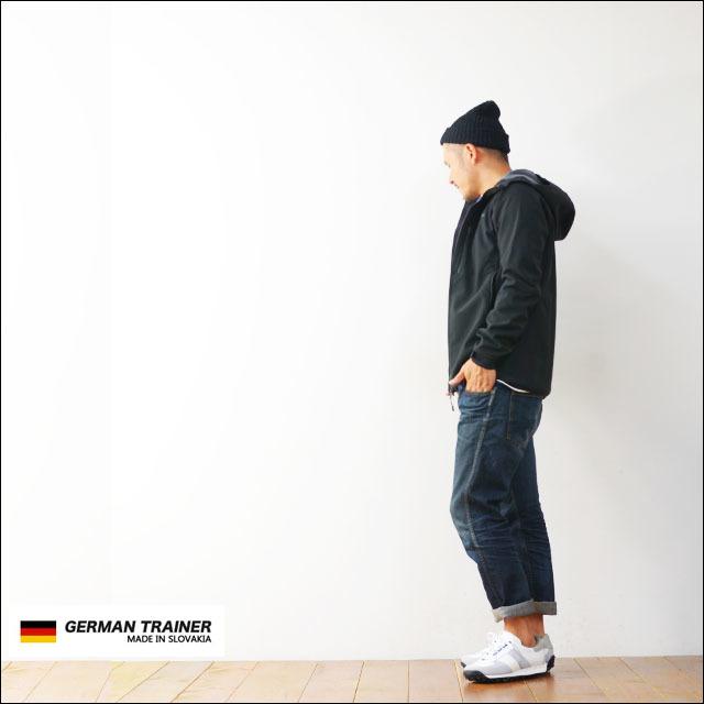 GERMAN TRAINER [ジャーマントレーナー] TRAINER SNEAKER D-KAN LEATHER [1476] MEN\'S_f0051306_12120480.jpg