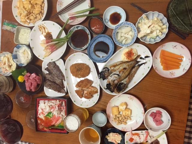 昨日は、日本料理たべましたよ。_d0099507_1218538.jpg