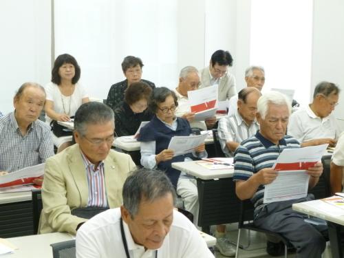 8月24日 県職員退職者の会周南支部総会・親睦会_c0104626_15465859.jpg