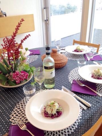 2015 9月料理教室 自家製サルシッチャ ブルーンのクラフティ_e0134337_19231528.jpg