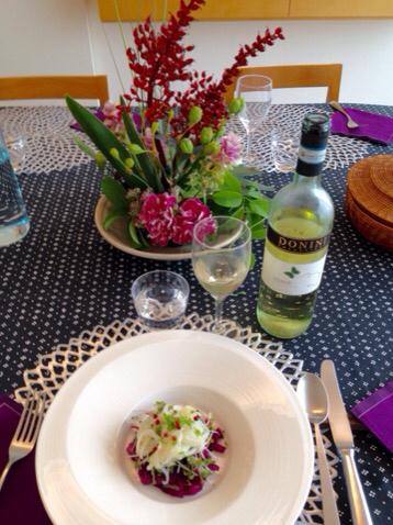 2015 9月料理教室 自家製サルシッチャ ブルーンのクラフティ_e0134337_19231639.jpg