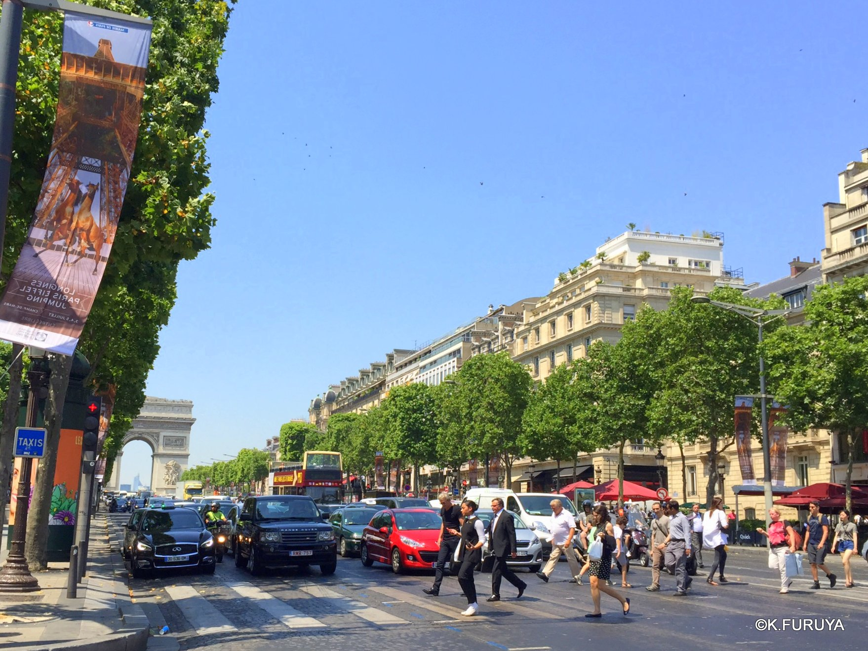 フランス周遊の旅 27 パリはあっつかった~!_a0092659_23112588.jpg