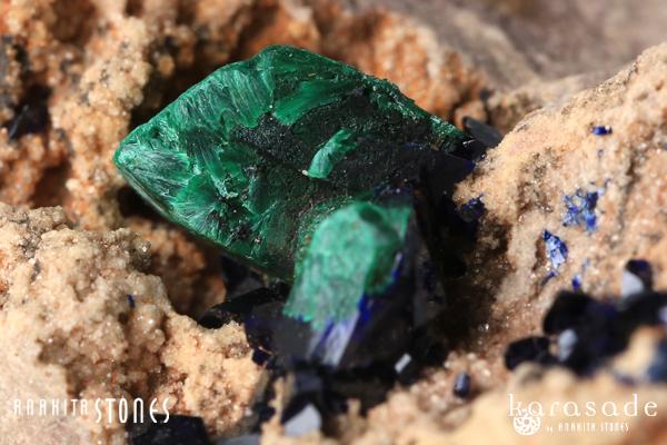 マラカイト原石(モロッコ産)_d0303974_2081635.jpg
