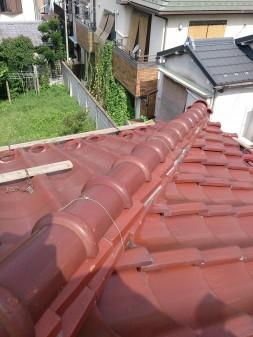 板橋区の前野町で、瓦屋根修理工事_c0223192_21583353.jpg