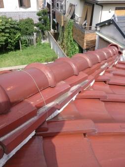 板橋区の前野町で、瓦屋根修理工事_c0223192_2204100.jpg