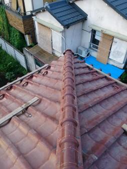 板橋区の前野町で、瓦屋根修理工事_c0223192_2262478.jpg