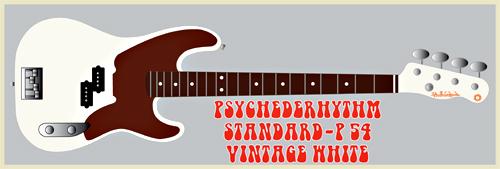 「Vintage WhiteのStandard-P 54」を2本発売します。_e0053731_14133342.jpg