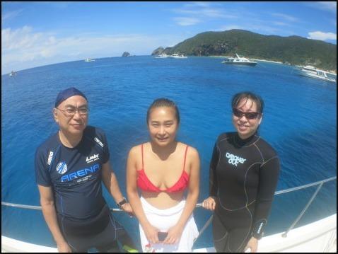 9月5日慶良間ダイビング&青の洞窟体験ダイビング_c0070933_21050556.jpg
