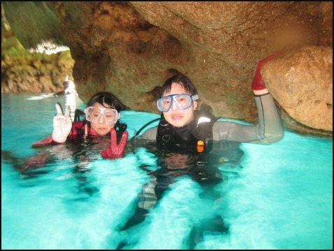9月5日慶良間ダイビング&青の洞窟体験ダイビング_c0070933_22283684.jpg