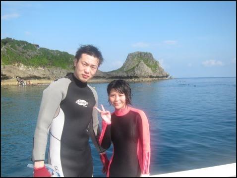 9月5日慶良間ダイビング&青の洞窟体験ダイビング_c0070933_22290260.jpg