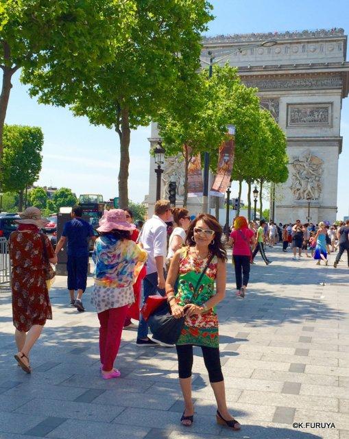 フランス周遊の旅 27 パリはあっつかった~!_a0092659_032451.jpg