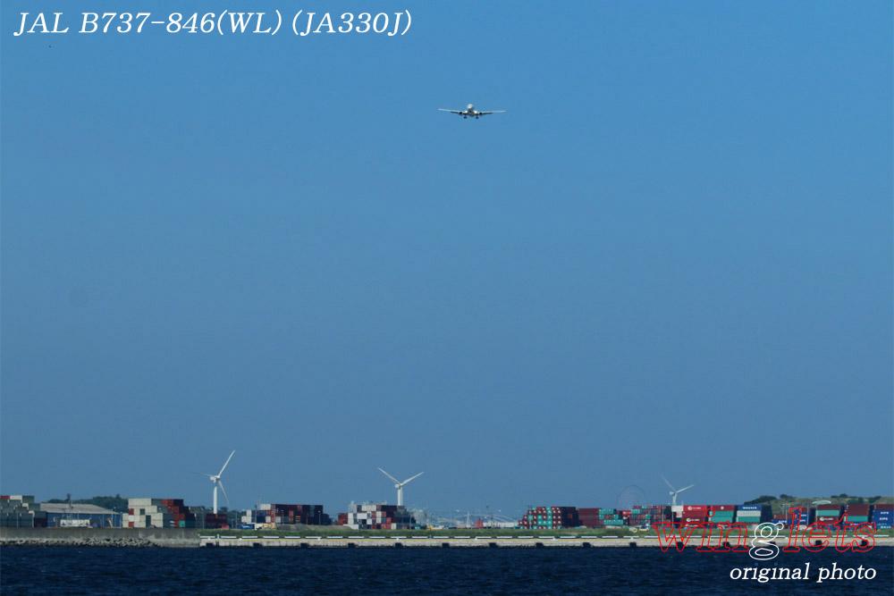 '15年 城南島・海浜公園レポート・・・JAL/JA330J_f0352866_1522492.jpg