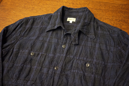 2 POCKETS WORK SHIRT -A/W 2015-_c0340269_19200777.png