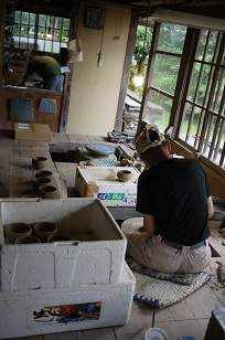 ②島根県「袖師窯」さんの工房に行ってきました!_f0226293_8395249.jpg