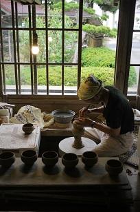 ②島根県「袖師窯」さんの工房に行ってきました!_f0226293_840187.jpg