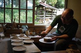 ②島根県「袖師窯」さんの工房に行ってきました!_f0226293_840449.jpg