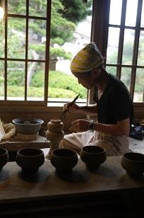 ②島根県「袖師窯」さんの工房に行ってきました!_f0226293_840542.jpg