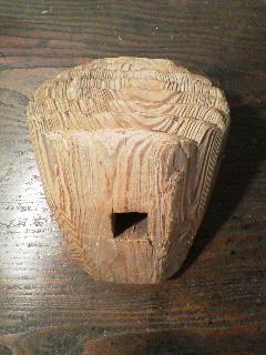茅葺屋根用の木槌_e0350308_7321571.jpg